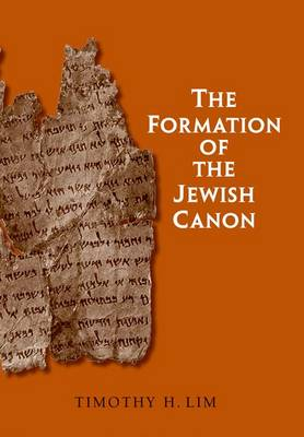 The Formation of the Jewish Canon - The Anchor Yale Bible Reference Library (Hardback)