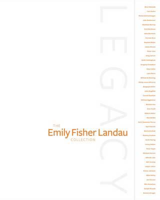 Legacy: The Emily Fisher Landau Collection (Hardback)