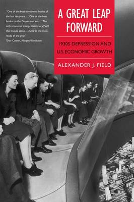 A Great Leap Forward: 1930s Depression and U.S. Economic Growth - Yale Series in Economic and Financial History (Paperback)