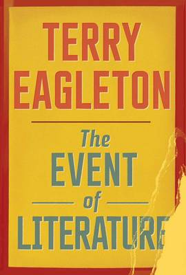The Event of Literature (Paperback)