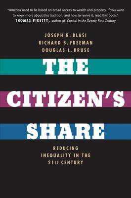 The Citizen's Share: Reducing Inequality in the 21st Century (Paperback)