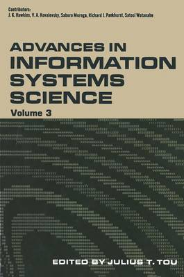 Advances in Information Systems Science (Hardback)