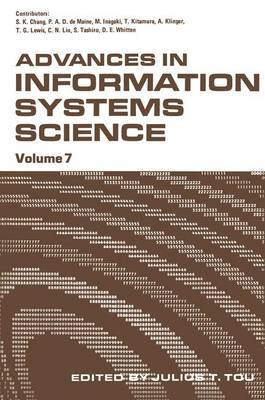 Advances in Information Systems Science: Volume 7 (Hardback)