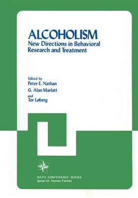 Alcoholism: New Directions in Behavioral Research and Treatment - III Human Factors 7 (Hardback)