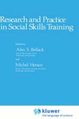 Research and Practice in Social Skills Training (Hardback)