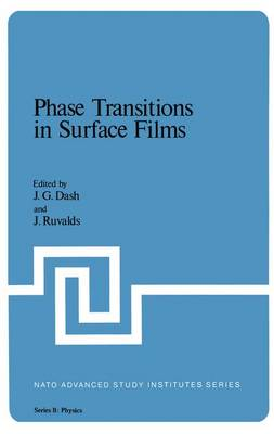Phase Transitions in Surface Films - NATO Science Series B 51 (Hardback)