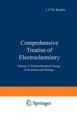 Comprehensive Treatise of Electrochemistry: Electrochemical Energy Conversion and Storage Vol.3 - Comprehensive Treatise of Electrochemistry (Closed) (Hardback)