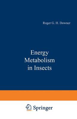 Energy Metabolism in Insects (Hardback)