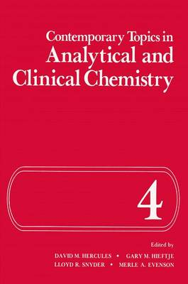 Contemporary Topics in Analytical and Clinical Chemistry - Geological Conservation Review Series (Hardback)