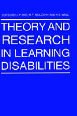 Theory and Research in Learning Disabilities (Hardback)