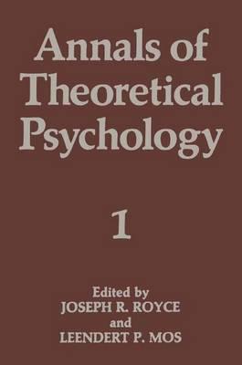 Annals of Theoretical Psychology: Volume 1 (Hardback)