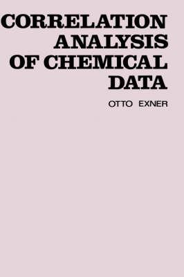 Correlation Analysis of Chemical Data (Hardback)