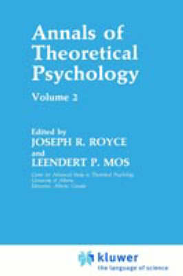 Annals of Theoretical Psychology: Volume 2 (Hardback)