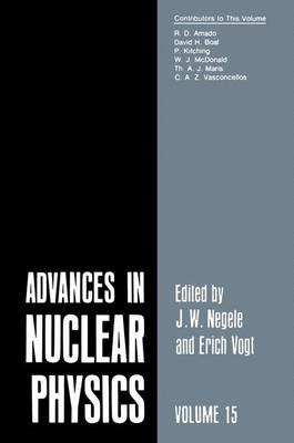 Advances in Nuclear Physics: Volume 15 - Advances in Nuclear Physics 15 (Hardback)