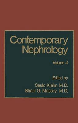 Contemporary Nephrology: Volume 4 (Hardback)