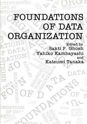 Foundations of Data Organization (Hardback)