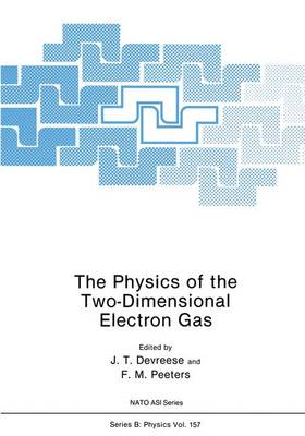 The Physics of the Two-Dimensional Electron Gas - Nato ASI Subseries B: 157 (Hardback)