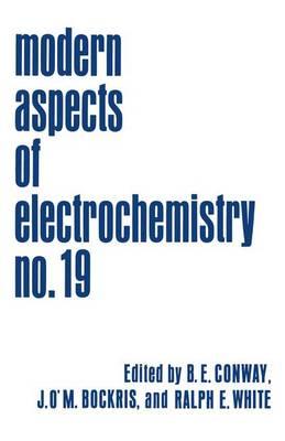 Modern Aspects of Electrochemistry: 19 (Hardback)