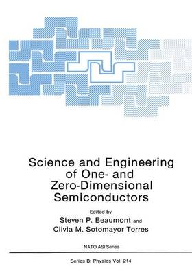 Science and Engineering of One- and Zero-Dimensional Semiconductors - NATO Science Series B 214 (Hardback)