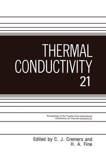 Thermal Conductivity (Hardback)