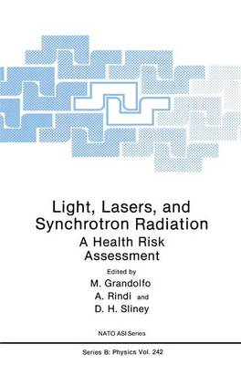 Light, Lasers, and Synchrotron Radiation: A Health Risk Assessment - NATO Science Series B 242 (Hardback)