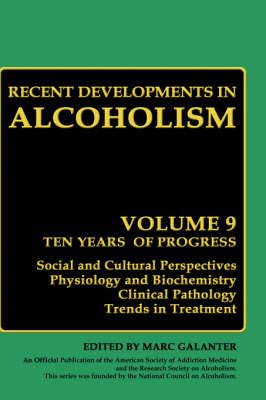 Children of Alcoholics: Recent Developments in Alcoholism Children of Alcoholics Volume 9 - Recent Developments in Alcoholism 9 (Hardback)