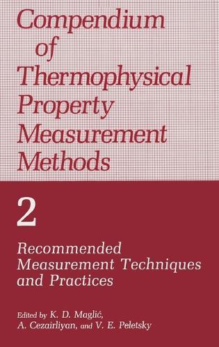 Compendium of Thermophysical Property Measurement Methods: v. 2 (Hardback)