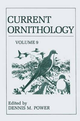 Current Ornithology - Current Ornithology 9 (Hardback)