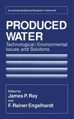Produced Water: Technological / Environmental Issues and Solutions - Environmental Science Research v. 46 (Hardback)