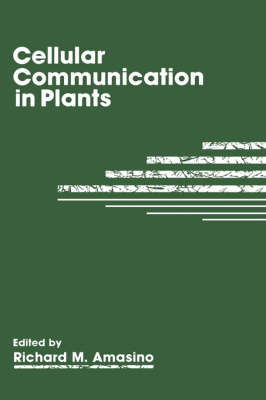 Cellular Communication in Plants (Hardback)