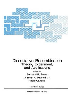 Dissociative Recombination: Proceedings of a NATO ARW Held in Saint Jacut de la Mer, Brittany, France, May 3-8, 1992 2nd: Theory, Experiment and Applications - NATO Science Series B: Physics v. 313 (Hardback)