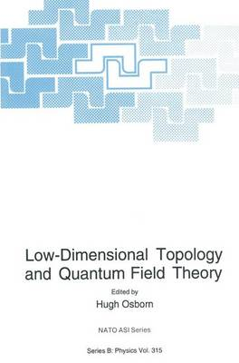Low-Dimensional Topology and Quantum Field Theory - NATO Science Series B 315 (Hardback)