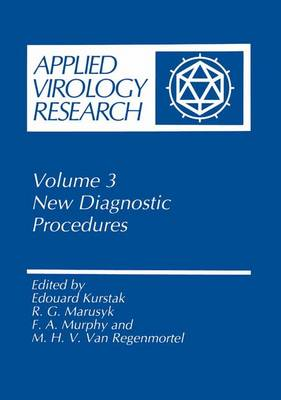 Applied Virology Research: New Diagnostic Procedures - Applied Virology Research 3 (Hardback)