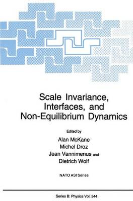 Scale Invariance, Interfaces, and Non-Equilibrium Dynamics - NATO Science Series B 344 (Hardback)