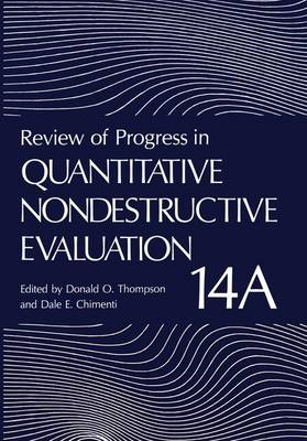 Review of Progress in Quantitative Nondestructive Evaluation: Volume 14A / 14B - Review of Progress in Quantitative Nondestructive Evaluation 14 (Hardback)