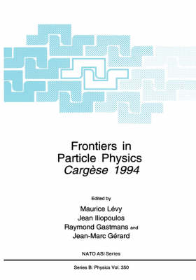 Frontiers in Particle Physics: Cergese 1994 - NATO Science Series B 350 (Hardback)