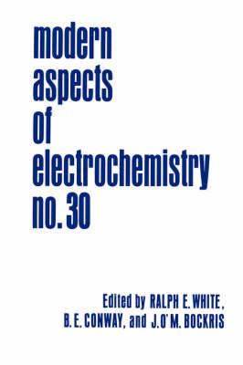 Modern Aspects of Electrochemistry 30 - Modern Aspects of Electrochemistry 30 (Hardback)