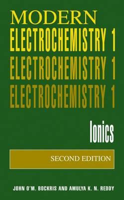 Volume 1: Modern Electrochemistry: Ionics (Paperback)