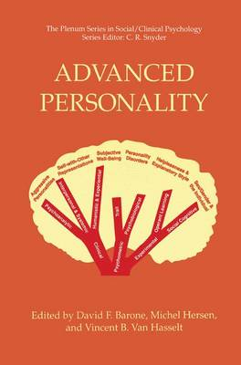 Advanced Personality - The Springer Series in Social Clinical Psychology (Hardback)