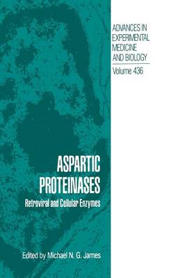 Aspartic Proteinases: Retroviral and Cellular Enzymes - Advances in Experimental Medicine and Biology 436 (Hardback)