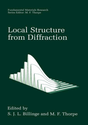 Local Structure from Diffraction - Fundamental Materials Research (Hardback)