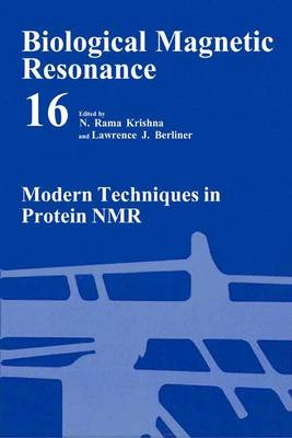 Modern Techniques in Protein NMR - Biological Magnetic Resonance 16 (Hardback)