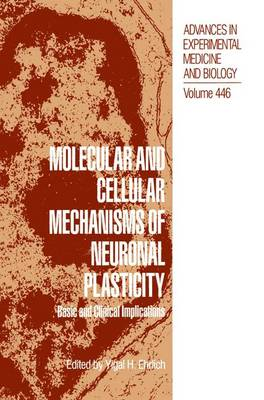 Molecular and Cellular Mechanisms of Neuronal Plasticity: Basic and Clinical Implications - Advances in Experimental Medicine and Biology 446 (Hardback)