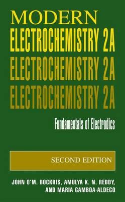 Modern Electrochemistry 2A: Fundamentals of Electrodics (Hardback)