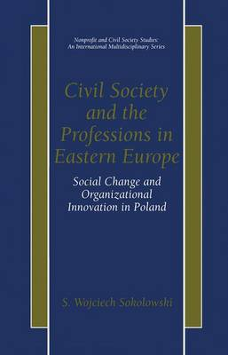 Civil Society and the Professions in Eastern Europe: Social Change and Organizational Innovation in Poland - Nonprofit and Civil Society Studies (Hardback)