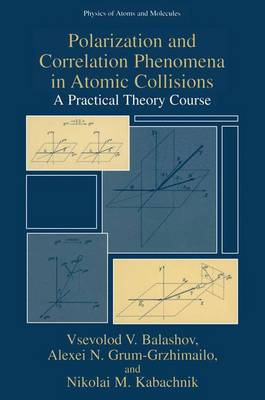 Polarization and Correlation Phenomena in Atomic Collisions: A Practical Theory Course - Physics of Atoms and Molecules (Hardback)