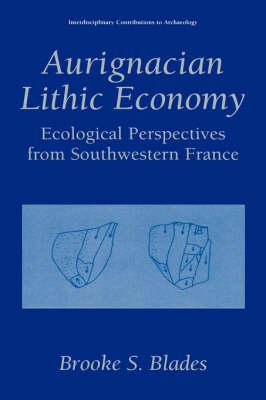 Aurignacian Lithic Economy: Ecological Perspectives from Southwestern France - Interdisciplinary Contributions to Archaeology (Hardback)