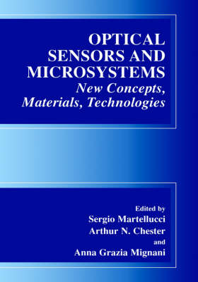 Optical Sensors and Microsystems: New Concepts, Materials, Technologies (Hardback)