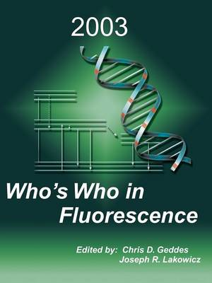 Who's Who in Fluorescence 2003 (Paperback)