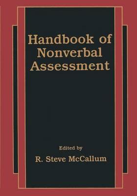 Handbook of Nonverbal Assessment (Hardback)